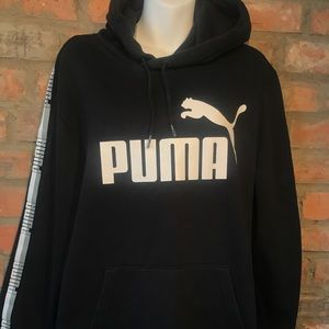 PUMA black hoodie - xl